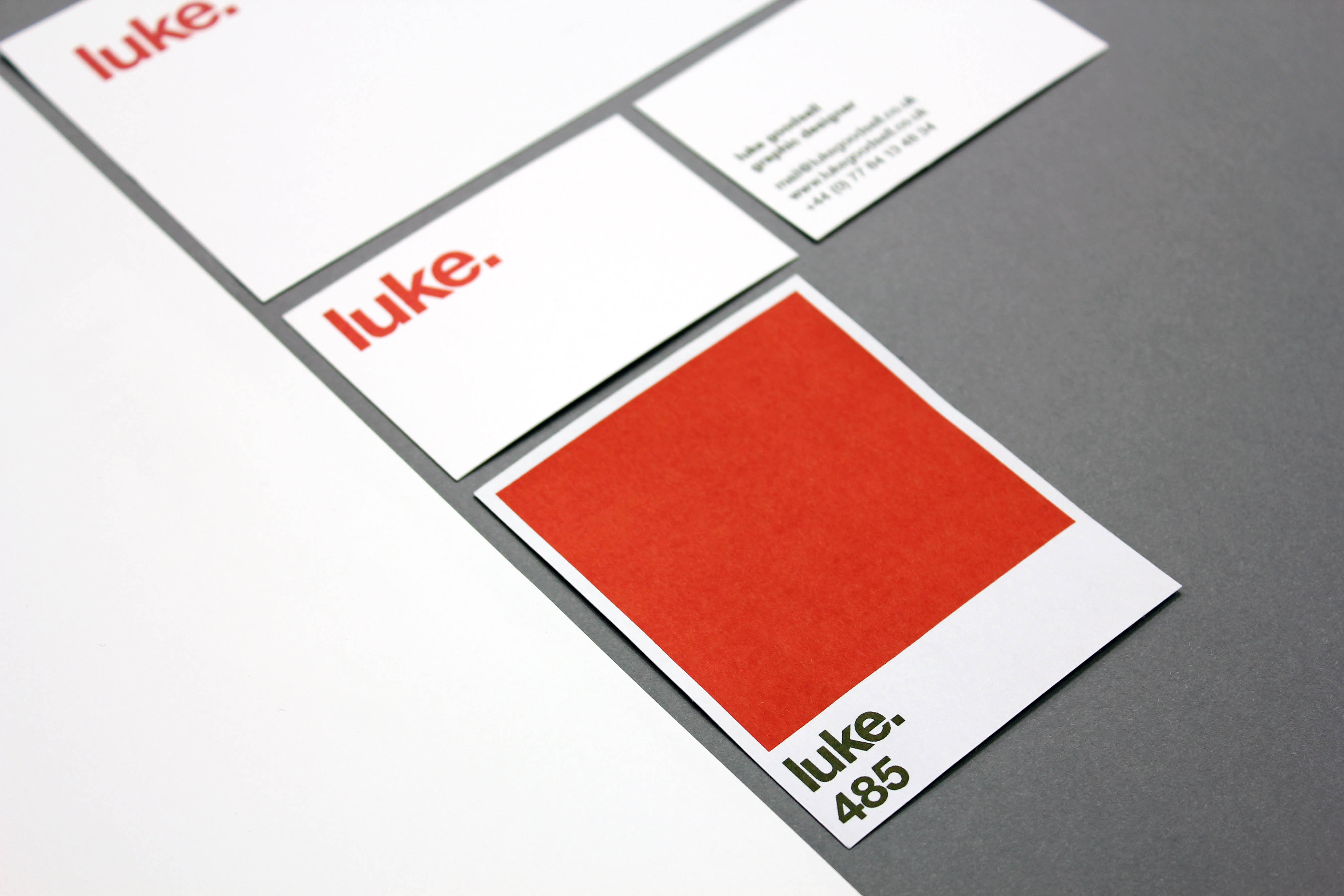 luke. stationery flat layout